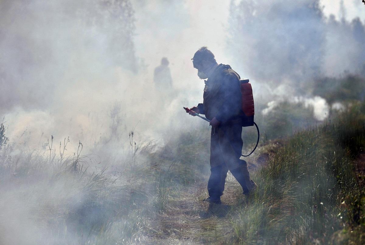 In Jakutien steht zurzeit eine Fläche so groß wie Schleswig-Holstein in Flammen / Foto © Alexander Miridonow/Kommersant
