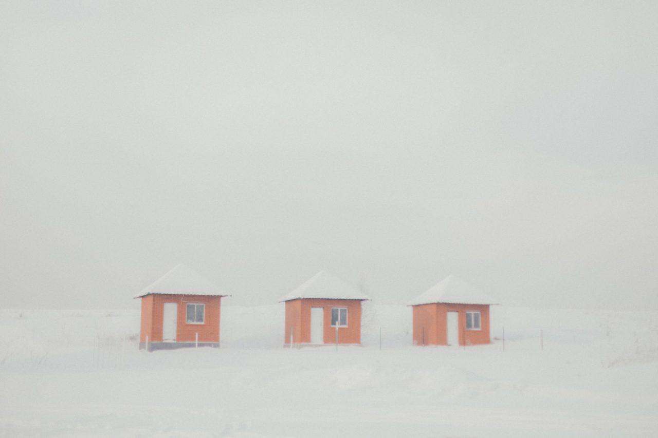 Auf dem Weg nach Kisseljowsk – überall liegt der Gestank von Teeröl und brennender Kohle in der Luft / Foto © Wladimir Awerin/Takie Dela