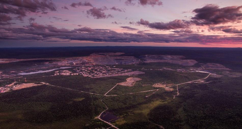 Kowdor - nördlich des Polarkreises an der finnischen Grenze / Foto © Maksim Mugatin