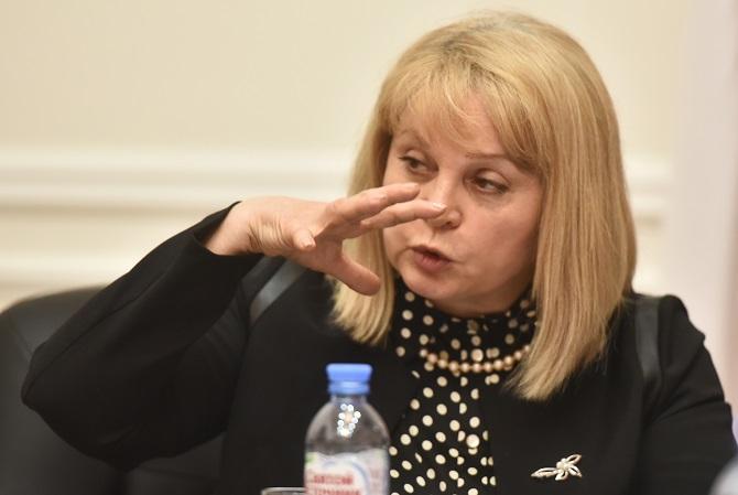 Ella Pamfilowa versucht den schwierigen Balanceakt zwischen Staat und Zivilgesellschaft / Foto © Alexander Korjakow/Kommersant