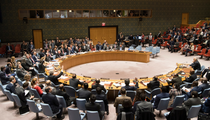 """Der russische UN-Botschafter Nebensja drohte mit """"schwerwiegenden Folgen"""" bei einem amerikanischen Raketenangriff in Syrien / Foto ©  Eskinder Debebe/UN Photo"""