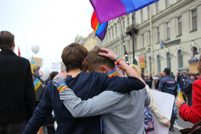 Bis heute ist eine Abneigung gegen Homosexualität in der russischen Gesellschaft weit verbreitet – Foto © Maria Komarowa/flickr.com