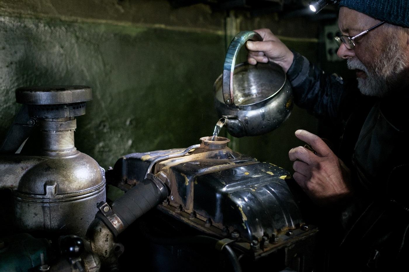 Kühlwasser für den Dieselgenerator