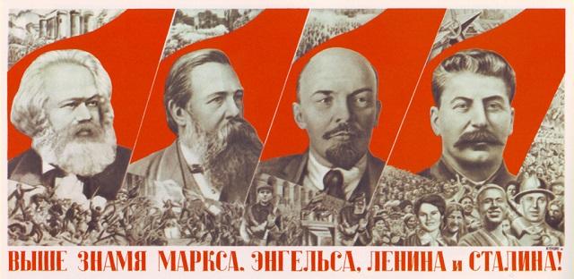 """""""Die Lehre von Marx ist allmächtig, weil sie wahr ist"""" - Bild gemeinfrei/Wikimedia"""