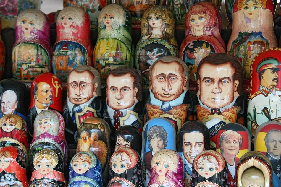 Die politische Matrjoschka ist kennzeichnend für Perestroika und postsowjetische Zeit / Foto © Wassili Schaposchnikow/Kommersant