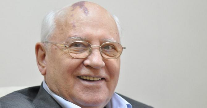 """""""Wenn ich gefragt werde, was ich bedauere, antworte ich, 'Ich habe zuviel verziehen'."""" – Michail Gorbatschow im Interview / Foto © Veni/flickr unter CC BY-SA 2.0"""