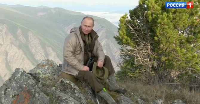 """""""Putin liebt nicht nur Kinder, er liebt alle Menschen"""" / © Screenshot aus """"Moskau. Kreml. Putin."""" vom 02.09.2018/Rossija-1"""