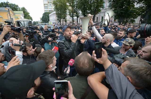Nicht nur im Kaukasus - auch in Moskau protestierten Muslime am 3. September gegen die Verfolgung der Rohingya / Foto © Gennadiy Gulyaev/Kommersant
