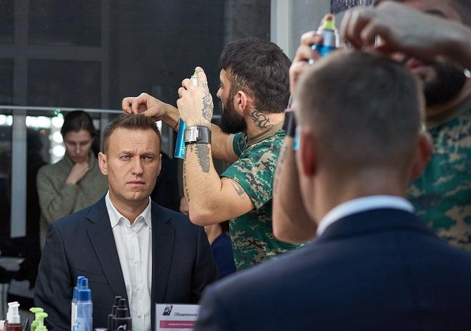 Bringt sich als Kandidat für die Präsidentschaftswahl 2018 in Stellung – Alexej Nawalny / Foto © Alexej Abanin/Kommersant