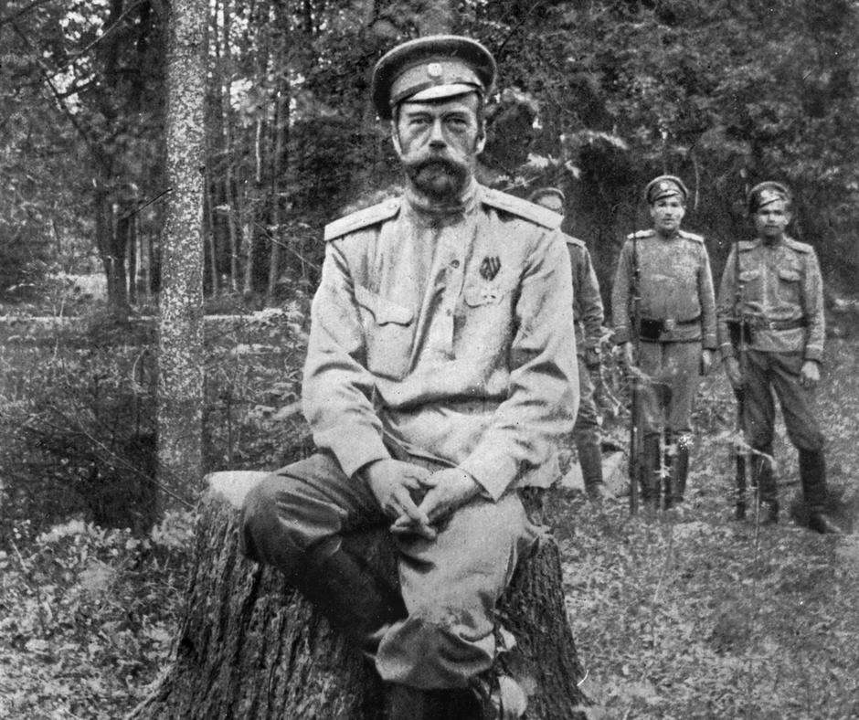 """""""Nikolaus II. war kein guter Politiker. Er hat Fehler gemacht, strategische und taktische, auf verschiedenen Ebenen."""" Zar Nikolaus in der sibirischen Verbannung, nach seiner Abdankung / Foto © Library of Congress"""