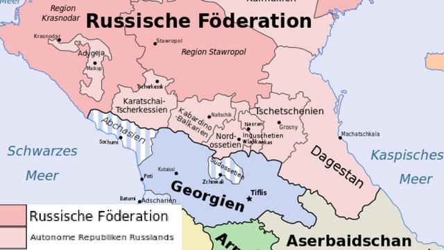 Wie unabhängig sind die Republiken des Nordkaukasus? / Foto © Don-kun, Jeroencommons/Wikimedia unter CC BY-SA 3.0,