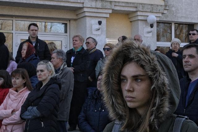 """""""Wir werden für unsere Rechte kämpfen, und wir werden nicht weichen"""" / Fotos © Wlad Dokschin/Novaya Gazeta"""