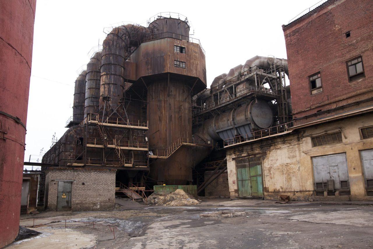 Totenstille. Zwei weitere Fabriken in Resh haben ihre Seele schon früher ausgehaucht