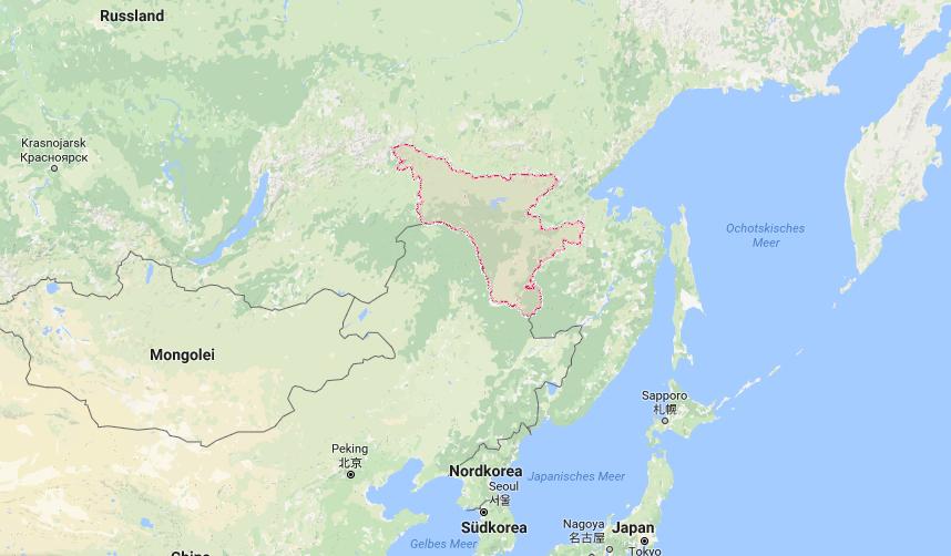 Die Oblast Amur liegt im russischen Fernen Osten an der chinesischen Grenze