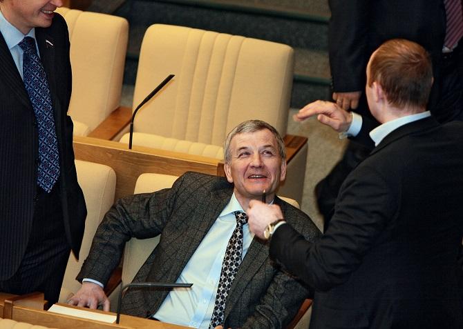 Sergej Petrow saß neun Jahre lang in der Duma – nun wird er nicht mehr antreten /Foto © Sergej Kisselew/Kommersant