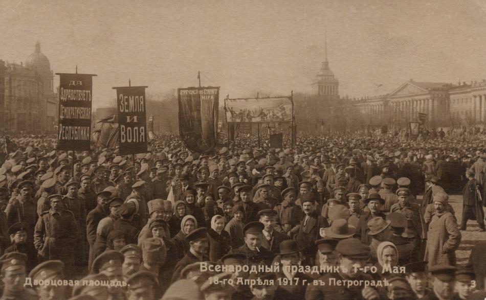 Der erste Mai als revolutionäre Zeitenwende / Foto © Michail Woronin/St. Petersburg
