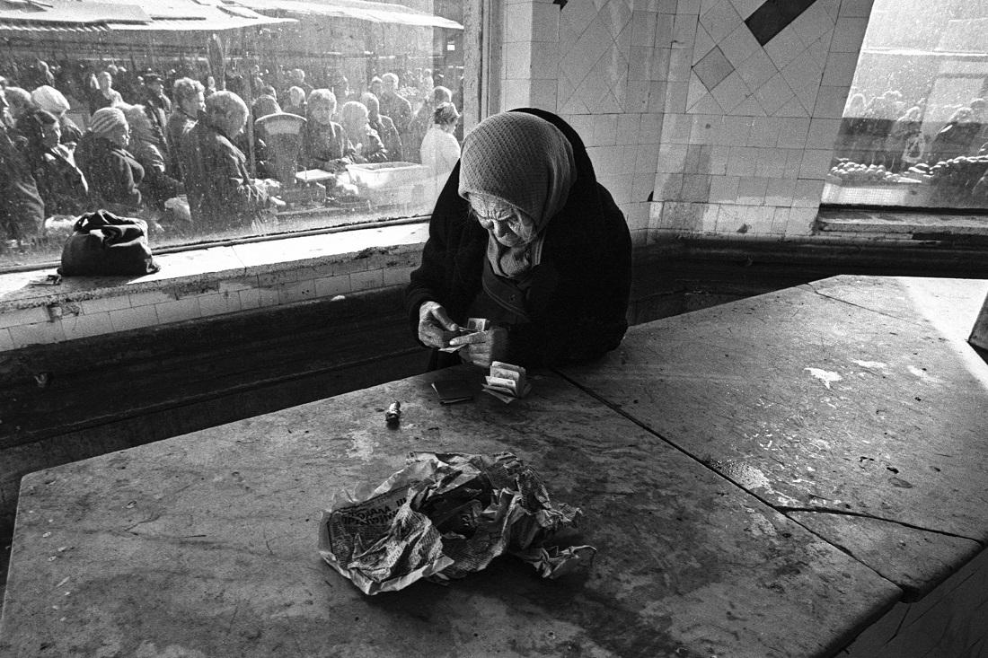 Schocktherapie – die Inflationsrate stieg auf 2600 Prozent / Foto © Eddi Opp/Kommersant, 1992