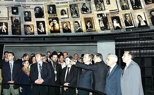 Bereits im Jahr 2005 besuchte Putin die Gedenkstätte in Yad Vashem / Foto © kremlin.ru
