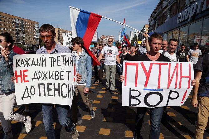 """""""Jeder Dritte erlebt die Rente nicht"""" / """"Putin ist ein Dieb"""""""