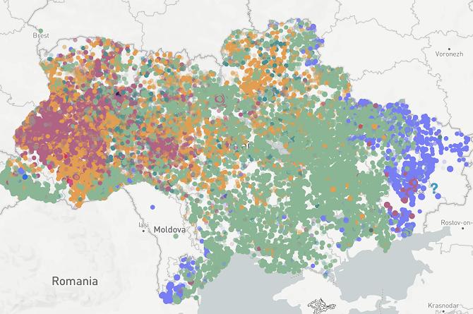 Die Ergebnisse der Präsidentschaftwahlen in unserer interaktiven Infografik