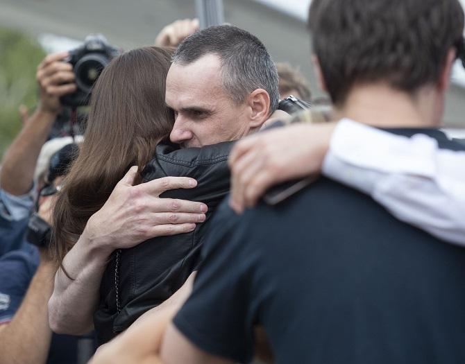 Oleg Senzow kam im September im Rahmen eines Gefangenenaustauschs der Haft frei / Foto © president.gov.ua unter CC BY-SA 4.0