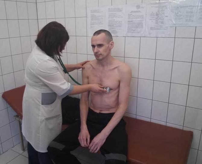 Oleg Senzow noch vor Beendigung seines Hungerstreiks / Foto: © FSIN