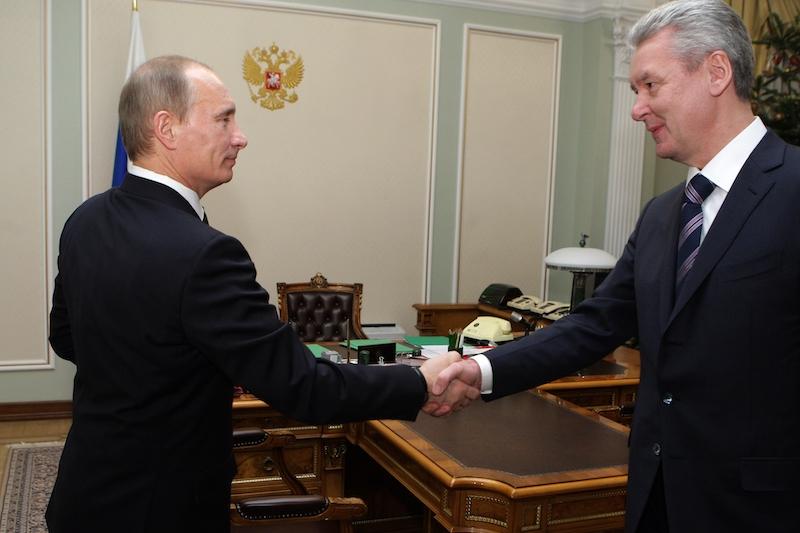 """Sergej Sobjanin gilt als """"Mann Putins"""". Quelle - Wikimedia"""
