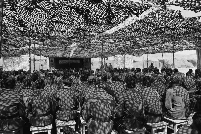 Soldaten bei einer Lagebesprechung, 25.04.1980 / Foto © Wladimir Wjatkin/Sputnik