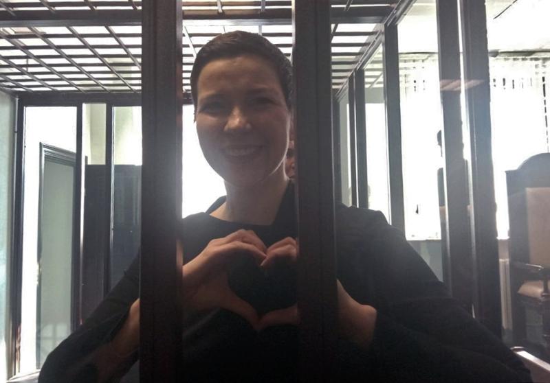 Seit dem 4. August 2021 wird Maria Kolesnikowa in Minsk der Prozess gemacht / Foto © Tatyana Belaeva/Sputnik RIA Novosti