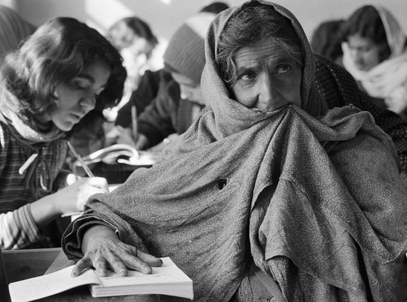 Alphabetisierungskurs für Frauen, Kabul, 11.05.1983 / Foto © Wladimir Rodionow/Sputnik