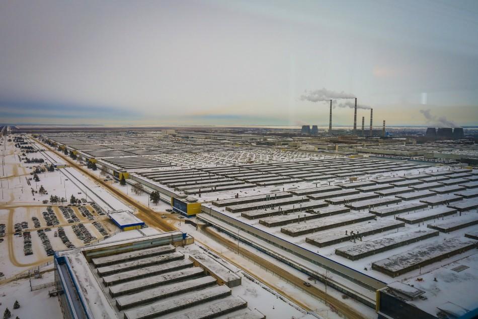 Der Produktionskomplex der Autofabrik AwtoWAS / Foto © Alexxx Malev/flickr.com