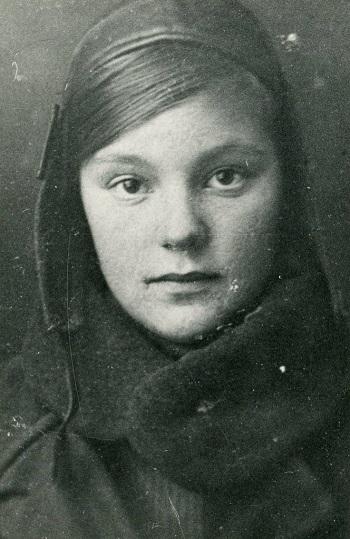 Aldona in Moskau / Foto © Memorial