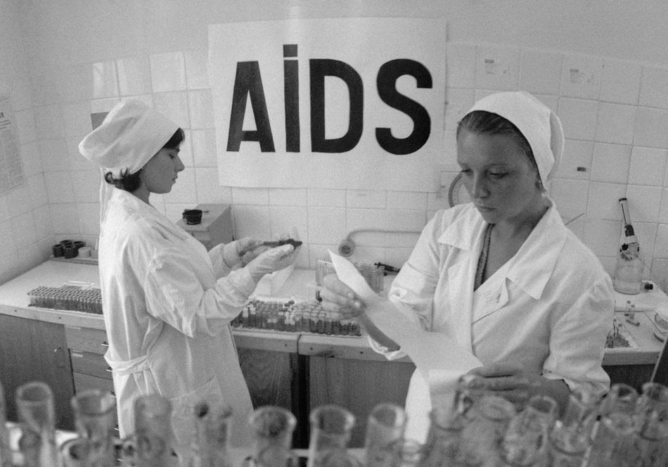 Mitte der 1980er Jahre erreichte das HI-Virus auch die Sowjetunion und andere Ostblockstaaten / Foto © Vladimir Velengurin/TASS