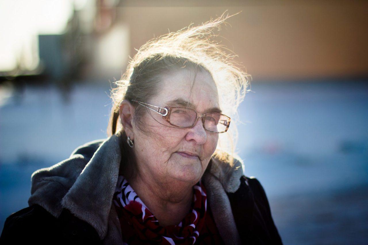 Draußen sind es  minus 15 Grad. Wenn du in Sachalin aufgewachsen bist, wirst du niemals frieren, sagt Pelageja