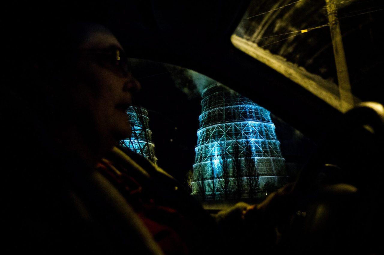 """Pelageja erzählt. """"Ich mag es, während der Fahrt mit meinen Fahrgästen zu plaudern und die Bäume am Straßenrand zu bewundern"""""""