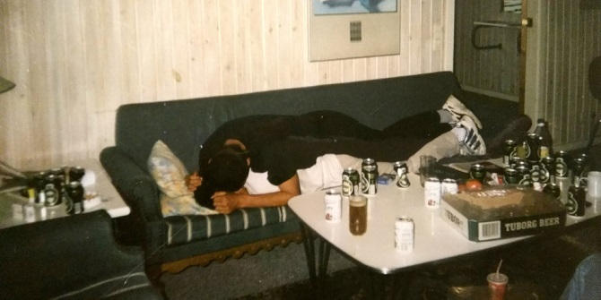 Дания, 1999 год, вечеринка © личный архив