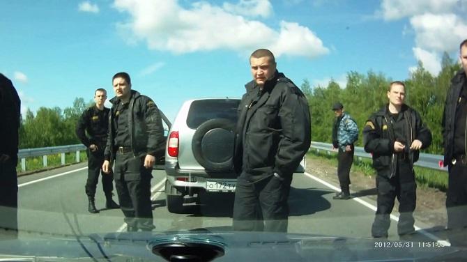 """""""Egal, was passiert – die Leute bleiben gelassen"""" / Filmstill © The Road Movie/D. Kalashnikov"""