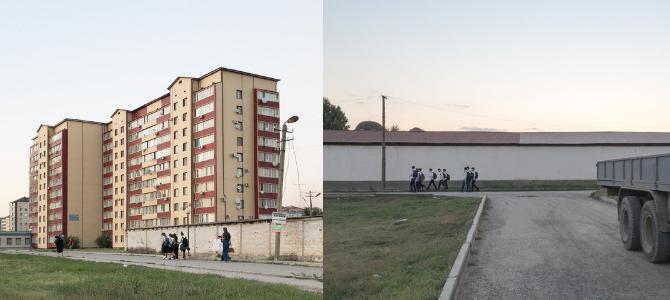 Sie fingen Natascha vor dem Haus ab und zerrten sie in eine weiße Semjorka / Foto © Dmitry Markov für Meduza