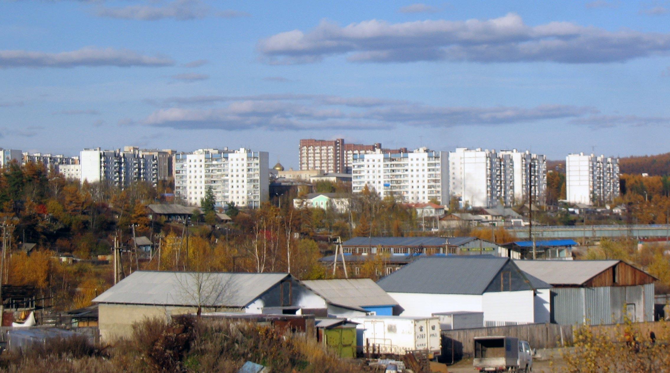 Die Stadt Tyndra ist Sitz der Wochenzeitung BAM / Foto © Wikipedia unter CC BY-SA 3.0