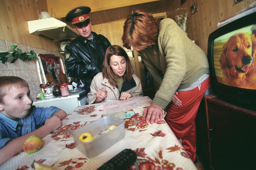 Volkszählung in Russland 2002 / Foto ©Dimitri Lebedew/Kommersant