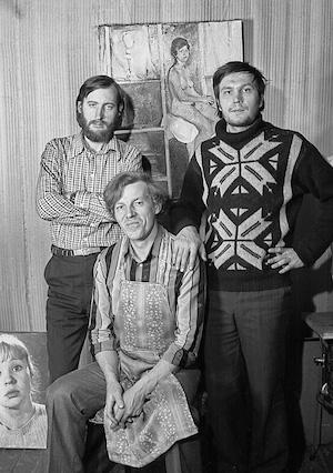 A. Trofimow, W. Worobjow, W. Sokolajew