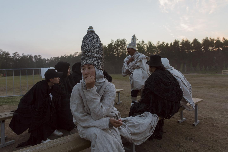 Nicht alle Gäste begrüßen die Sonne, nachts leert sich das Tal der Namzy / Foto © Alexej Wassiljew