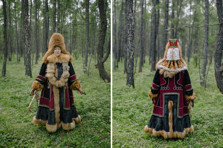 Die winterliche Nationaltracht ist immer mit Pelz verziert / Foto © Alexej Wassiljew