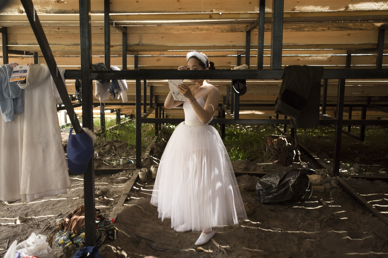 Vorbereitungen für den Auftritt / Foto © Alexej Wassiljew