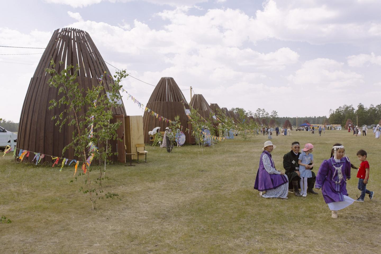 In den geäumigen Urassy können die Gäste während der Feierlichkeiten entspannen / Foto ©  Alexej Wassilew